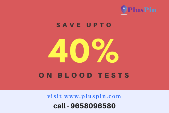 40% Off on Blood tests